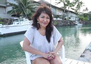 Bruno's mom, Bernadette Hernandez