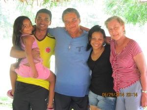 L to R: Luisa, Jhon, Roberto, Mayo, and Maya