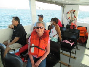 On the Ferry to Isla Taboga.