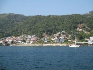 Approaching Isla Taboga